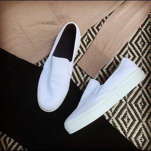 Sperry slip-on sneakers.